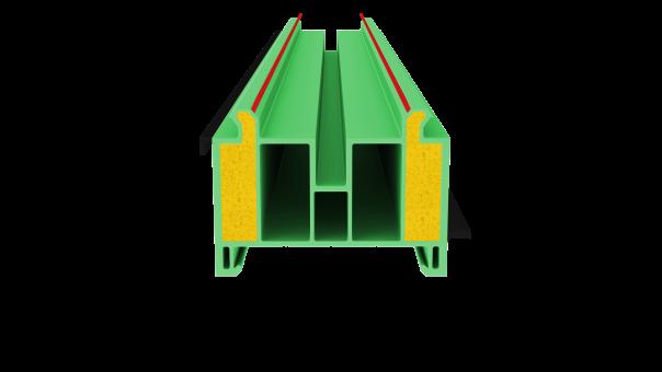 profil podokienny NVG02 PD 2PU